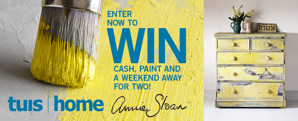 Who will be the Annie Sloaner of 2017? Home and Tuis Magazine are running a completion in conjunction with Annie Sloan